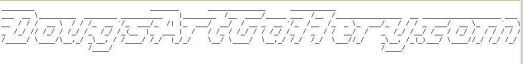 Free ASCII Art Generator
