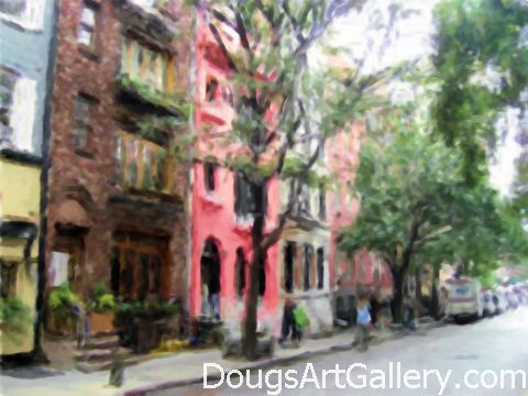 Greenwich Village NYC Artwork