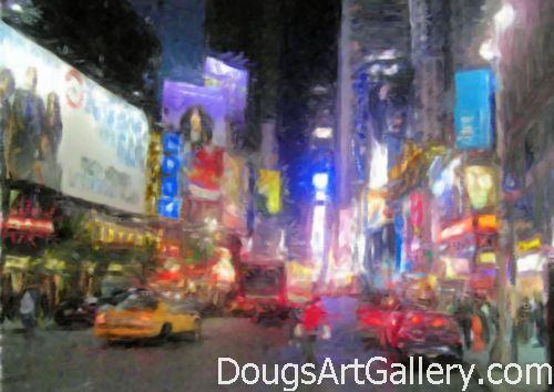 Times Square Street Level Art