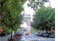 Washington Square Arch Artwork